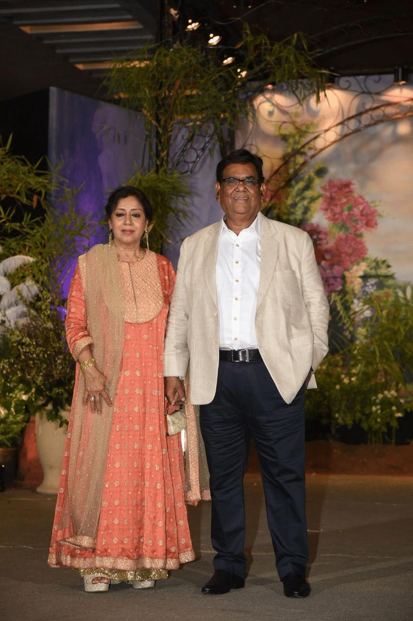 Satish Kaushik with Shashi Kaushik