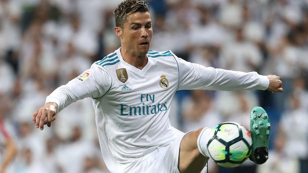 File picture of Cristiano Ronaldo.
