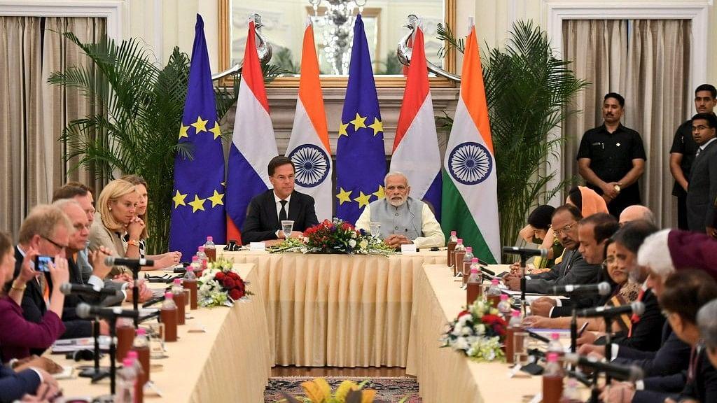 PM Modi Meets Netherlands PM Mark Rutte, Promises Stronger Ties
