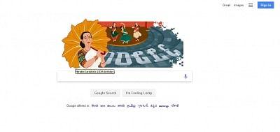 Google celebrates classical dancer Mrinalini Sarabhai's birth centenary
