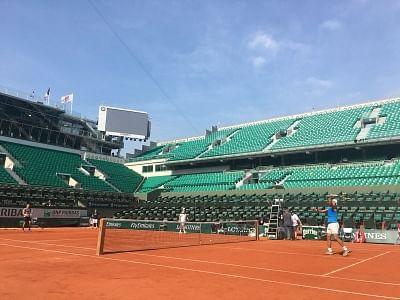Roland Garros stadium. (Photo: Twitter/@rolandgarros)