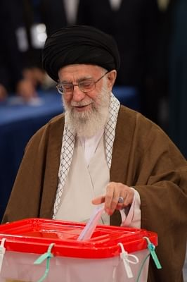 Iranian Supreme Leader Ayatollah Ali Khamenei. (File Photo: Xinhua/Meng Tao/IANS)
