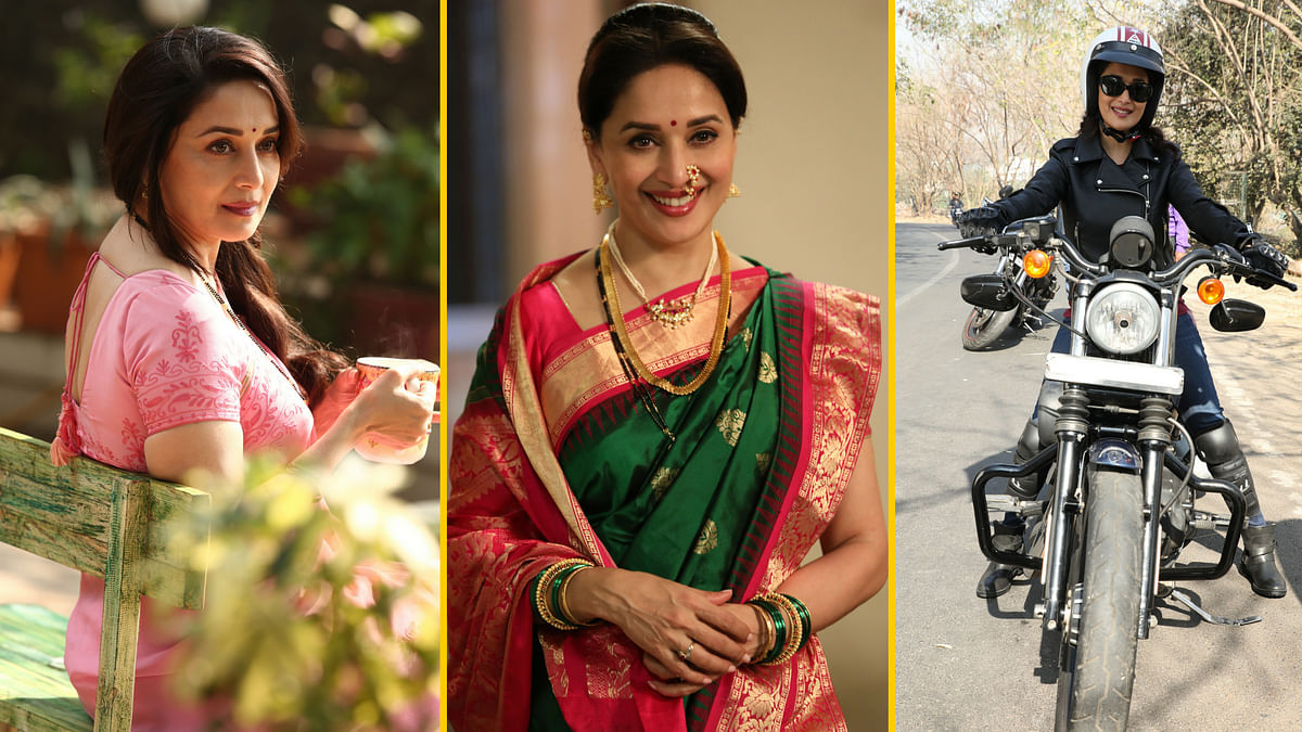 Many shades of Madhuri Dixit in 'Bucket List'. (Photo Courtesy: Dharma Productions)