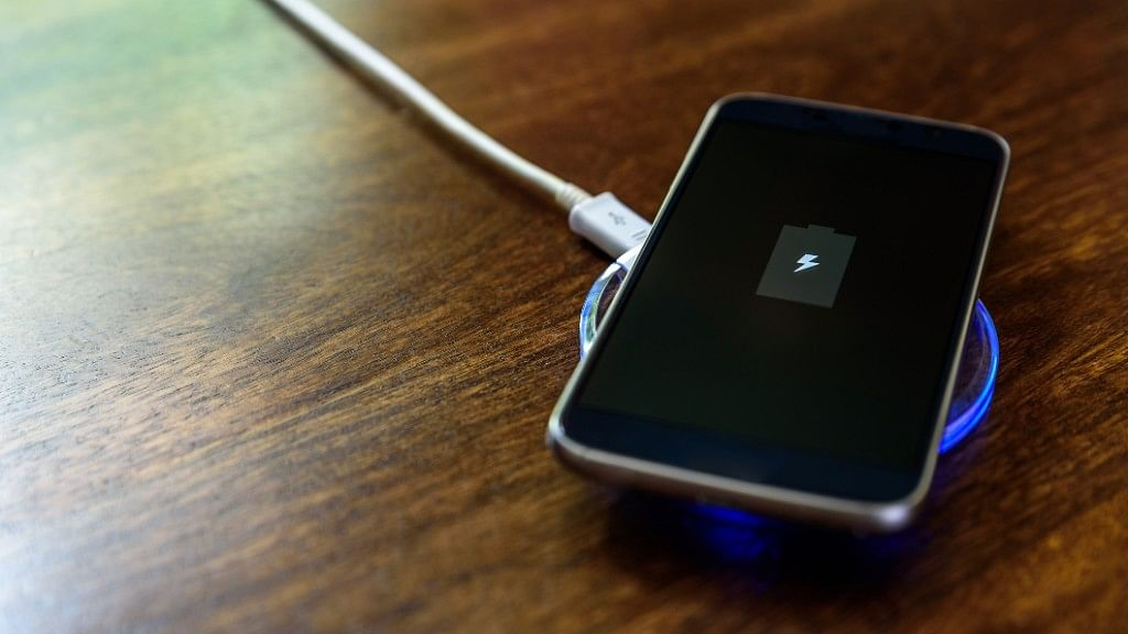Inductive charging is available on many high-end smartphones.