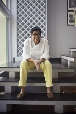 Chef Ritu Dalmia.