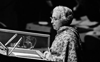 Vijayalakshmi Pandit was the first woman to be president of the United Nations General Assembly. (UN/IANS)