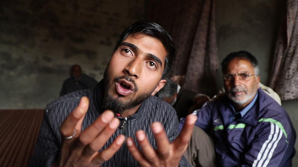 Adil's elder brother Arif Ahmad Yadoo.