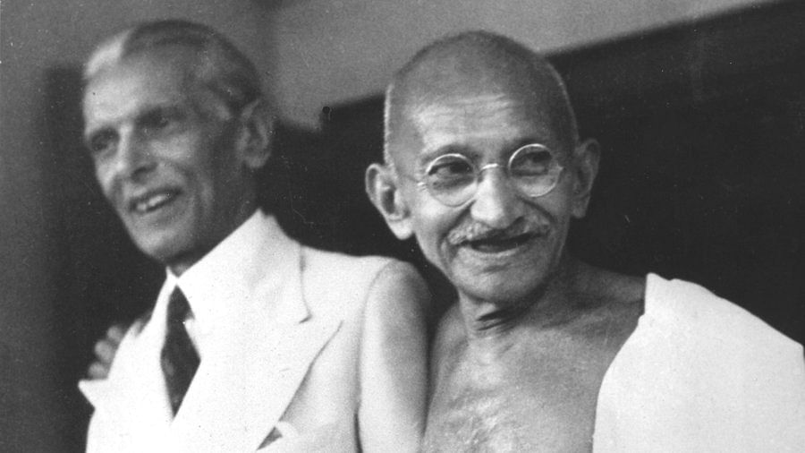 MA Jinnah was seven years younger to Mahatma Gandhi.
