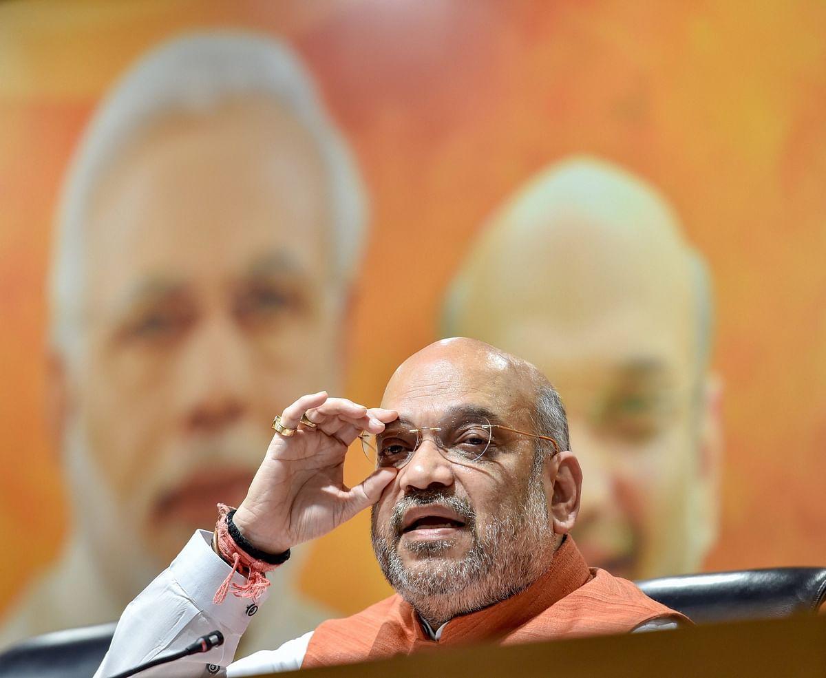 Amit Shah celebrates 4 years of Modi govt