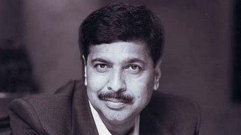 File photo of late BJP leader Pramod Mahajan.