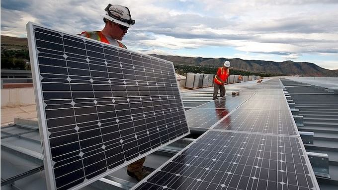 The pace of solar installations has declined in India