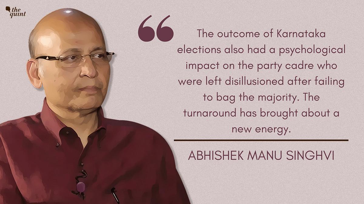 Exclusive: Abhishek Manu Singhvi on K'taka Polls & Midnight Drama