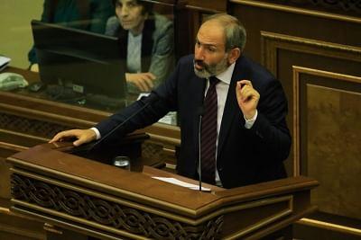 Nikol Pashinyan. (Xinhua/Gevorg Ghazaryan/IANS)