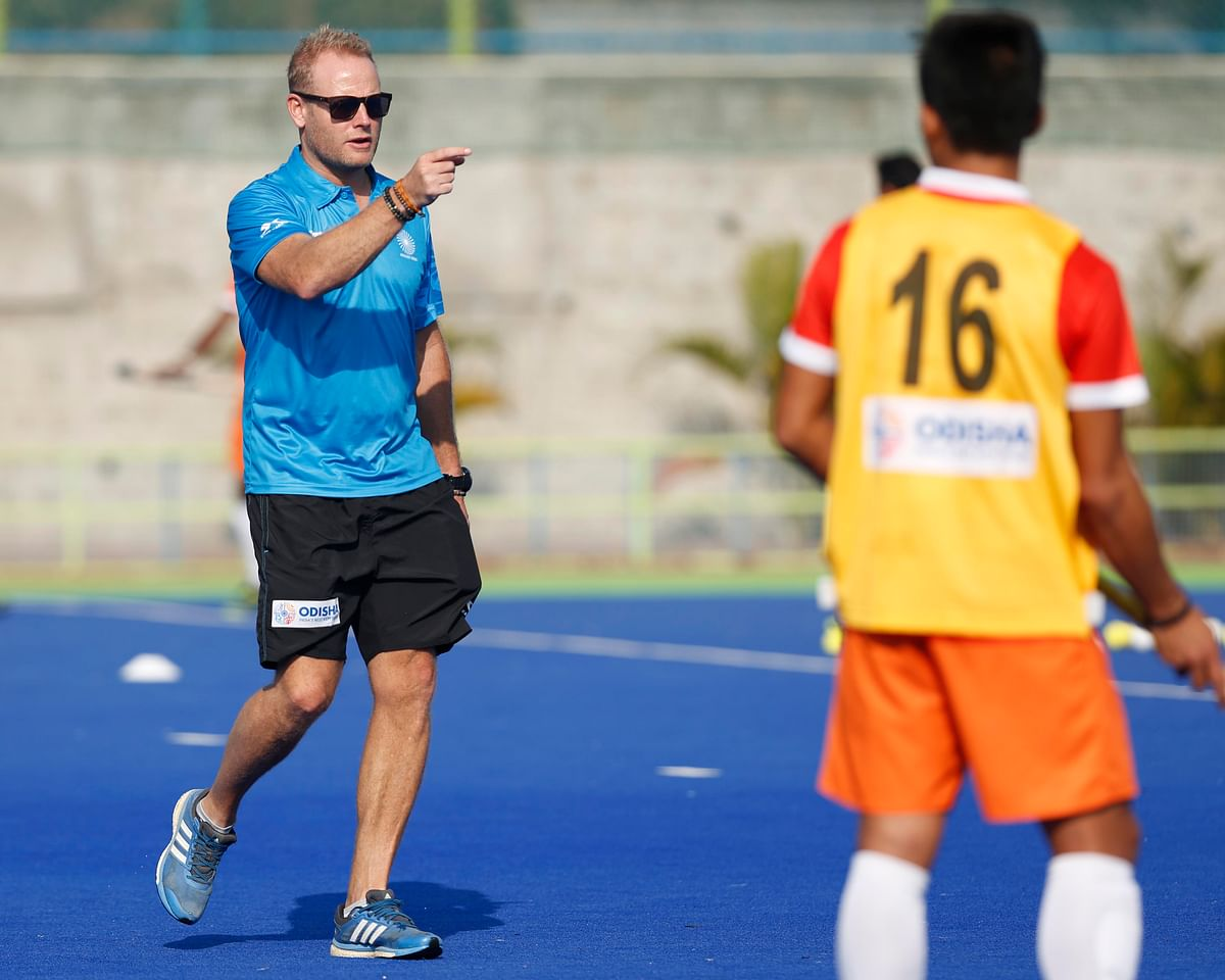 Dutchman Marijne was named the Indian men's hockey coach in November last year.