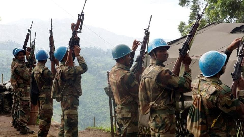 Indian troops deployed in Congo