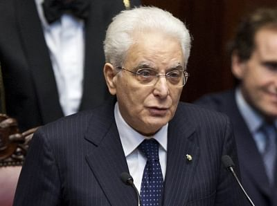 Italy President Sergio Mattarella. (File Photo: IANS)