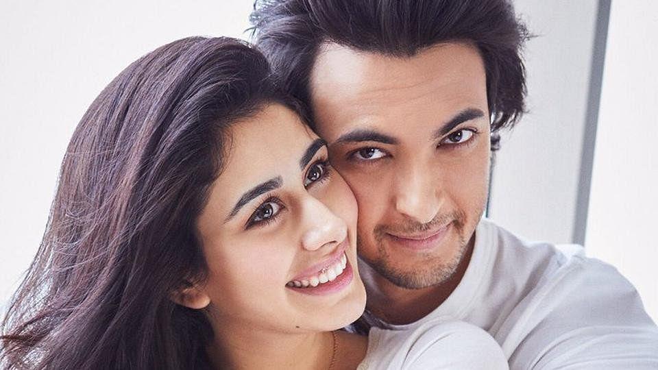 Ayush Sharma and Warina Hussain star in 'Loveratri'.