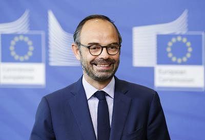French Prime Minister Edouard Philippe. (Xinhua/Ye Pingfan/IANS)