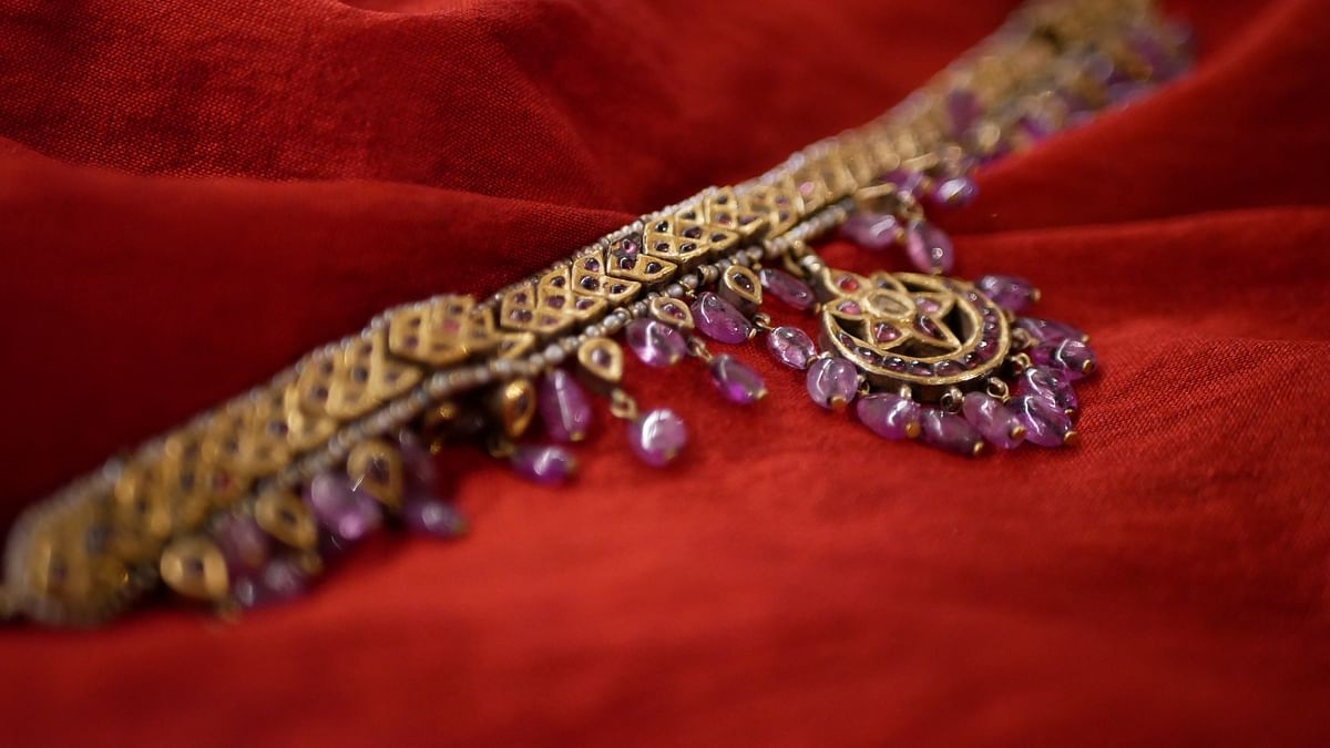 A piece of jewelry designed for <i>Mahanati</i>