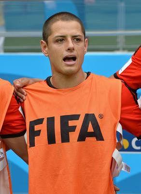 Javier Hernandez. (Photo: Xinhua/Guo Yong/IANS)