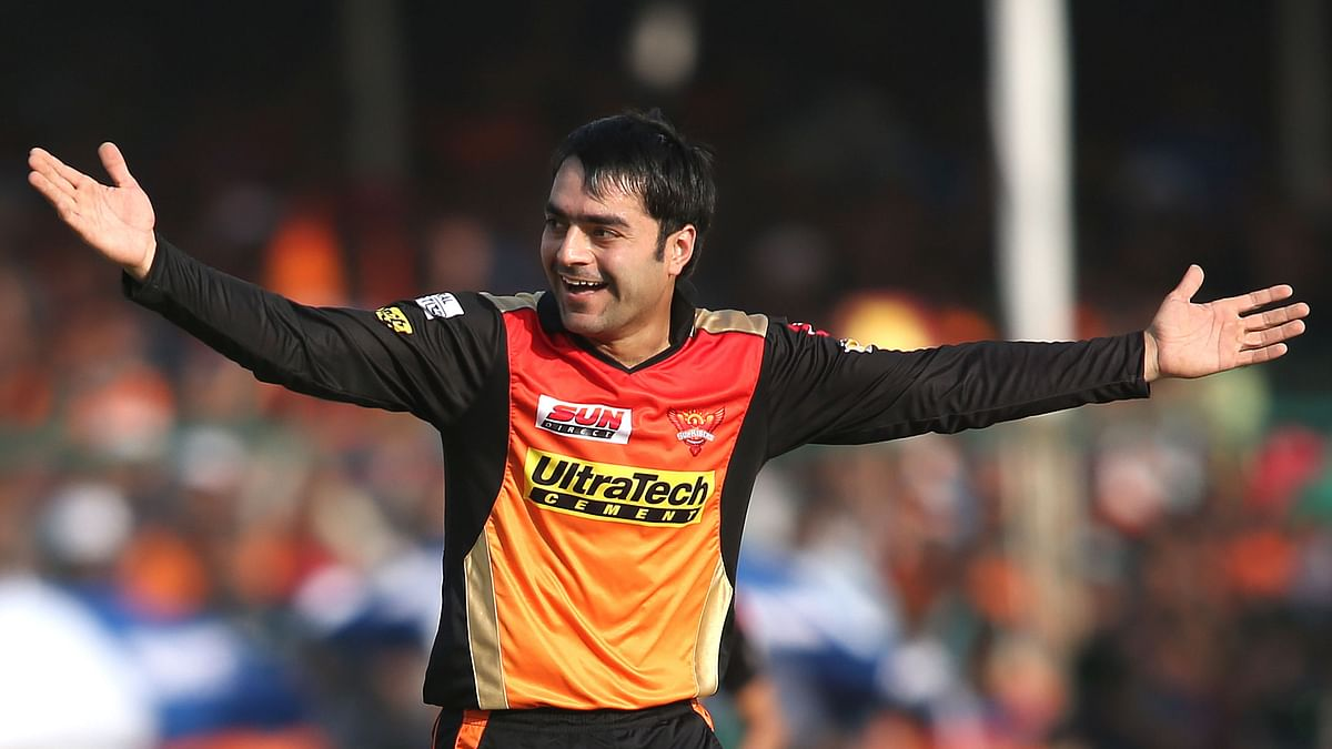 Rashid Khan picked up 21 wickets in 17 matches for Sunrisers Hyderabad in IPL 2018.