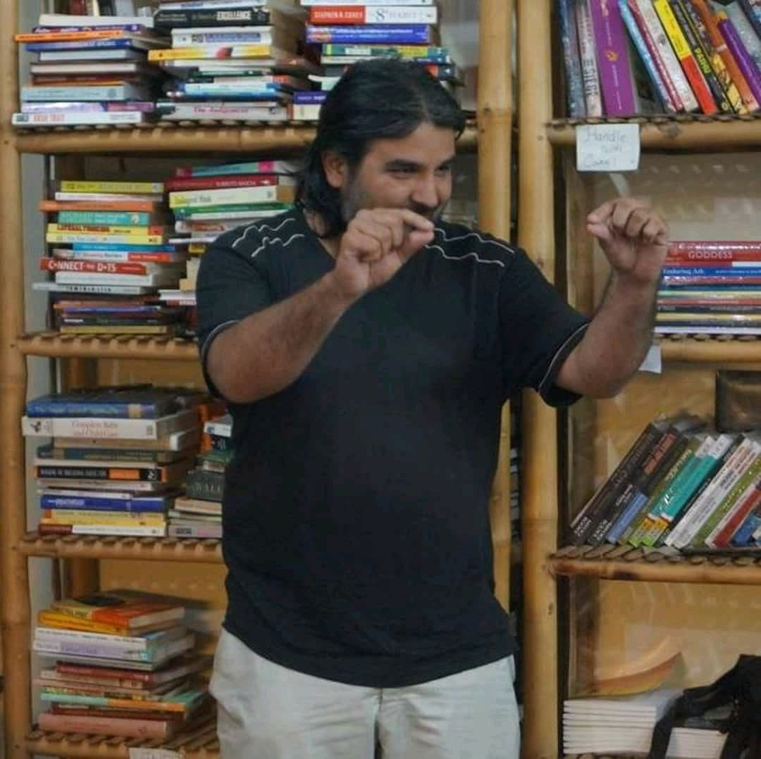 Chandrakant Redican is a spoken word performer.