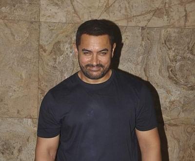 Actor Aamir Khan.
