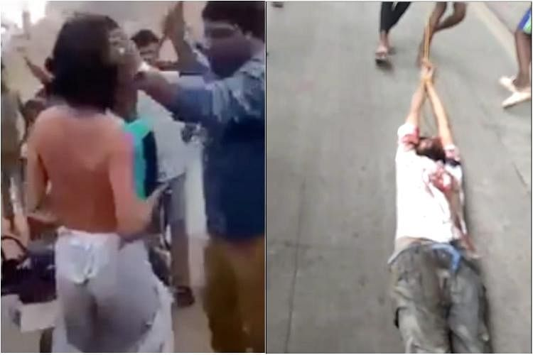 In a barbaric act, 25-year-old Kalu Ramu was lynched to death by a mob of several hundred residents from the area.
