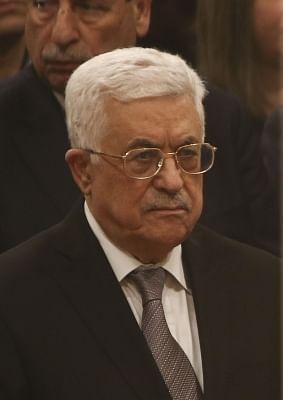 Palestinian President Mahmoud Abbas. (File Photo: Xinhua/Pool/Fadi Arouri/IANS)