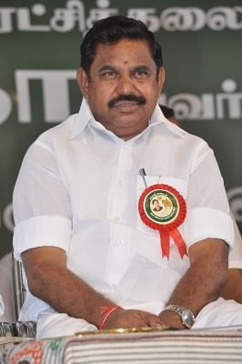 Tamil Nadu Chief Minister K.Palaniswami. (Photo: IANS)