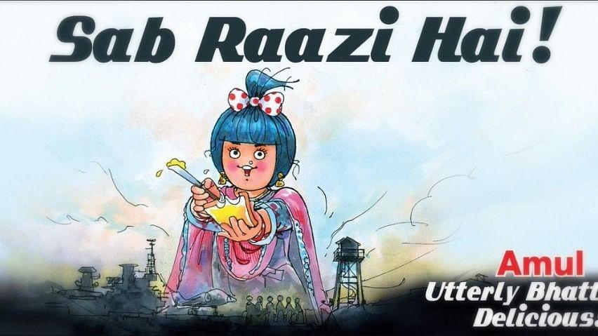Amul Pays a Delicious Tribute to Alia Bhatt's 'Raazi'