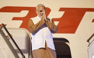 Jakarta: Prime Minister Narendra Modi arrives at Soekarno-Hatta International Airport Jakarta, Indonesia on May 29, 2018. (Photo: IANS/PIB)