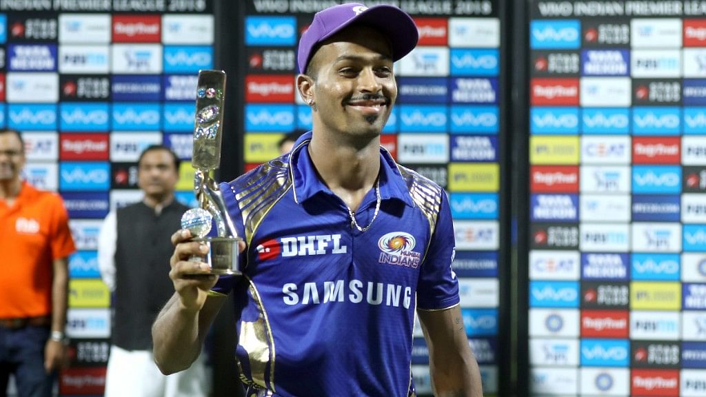 Hardik Pandya, who has 14 wickets from nine matches, will be a threat with both his smart bowling and aggressive batting against Kolkata Knight Riders.