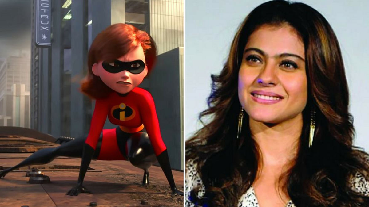 Kajol has lent her voice to the character of Helen Parr, Elastigirl in<i> the Incredibles 2.</i>