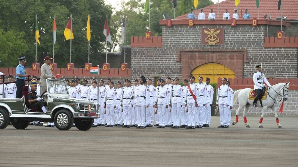In Pics: Prez Reviews Passing-Out Parade of  134th Course of NDA
