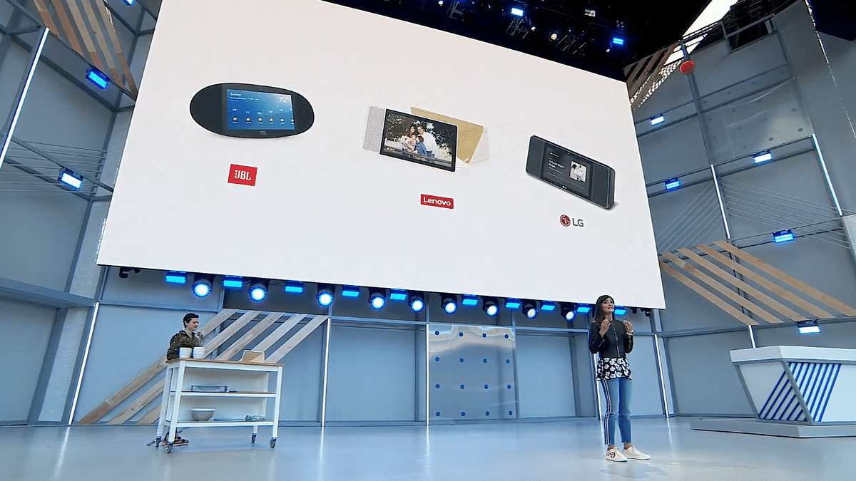 Google has partnered with multiple brands for their Smart Displays.