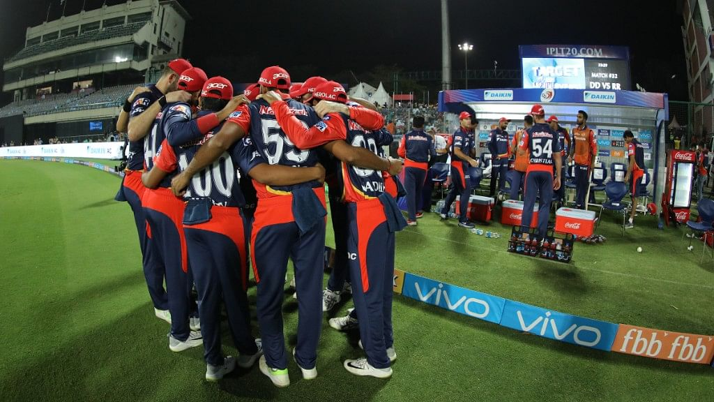 Daredevils got back to winning ways after they beat Rajasthan Royals in their last game at their home ground on Wednesday.