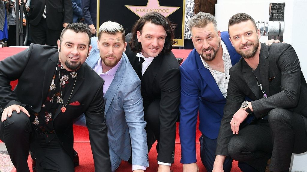 The popular 90's boy band *NSYNC received their Hollywood Walk of Fame star on 30 April.