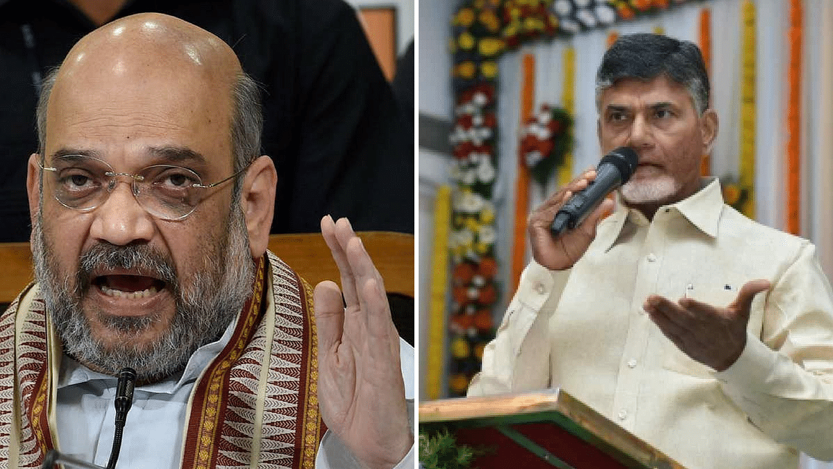 Who Is Amit Shah to Question Use of State Funds, Charges CM Naidu