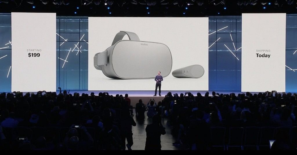 Oculus Go shipping begins May 1.