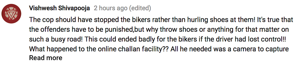 Comments on the issue.