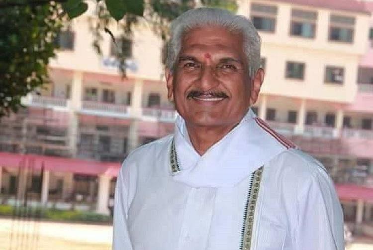 Seventy-three-year-old Dr Kalladka Prabhakar Bhat, the RSS in-charge for Karnataka, Telangana and Andhra Pradesh.