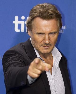 Liam Neeson. (Xinhua/Zou Zheng) (axy)