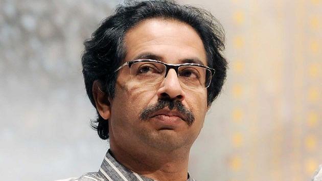 Shiv Sena chief Uddhav Thackeray.