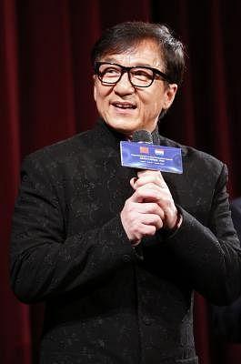 Jackie Chan. (Xinhua/Ye Pingfan/IANS)