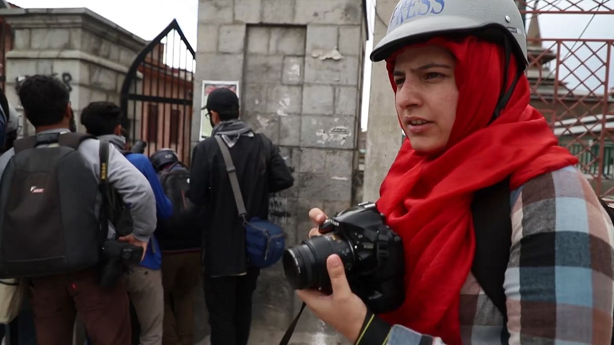 Masrat Zahra is a 24-year-old freelance photojournalist and is a student of journalism at Central University of Kashmir.