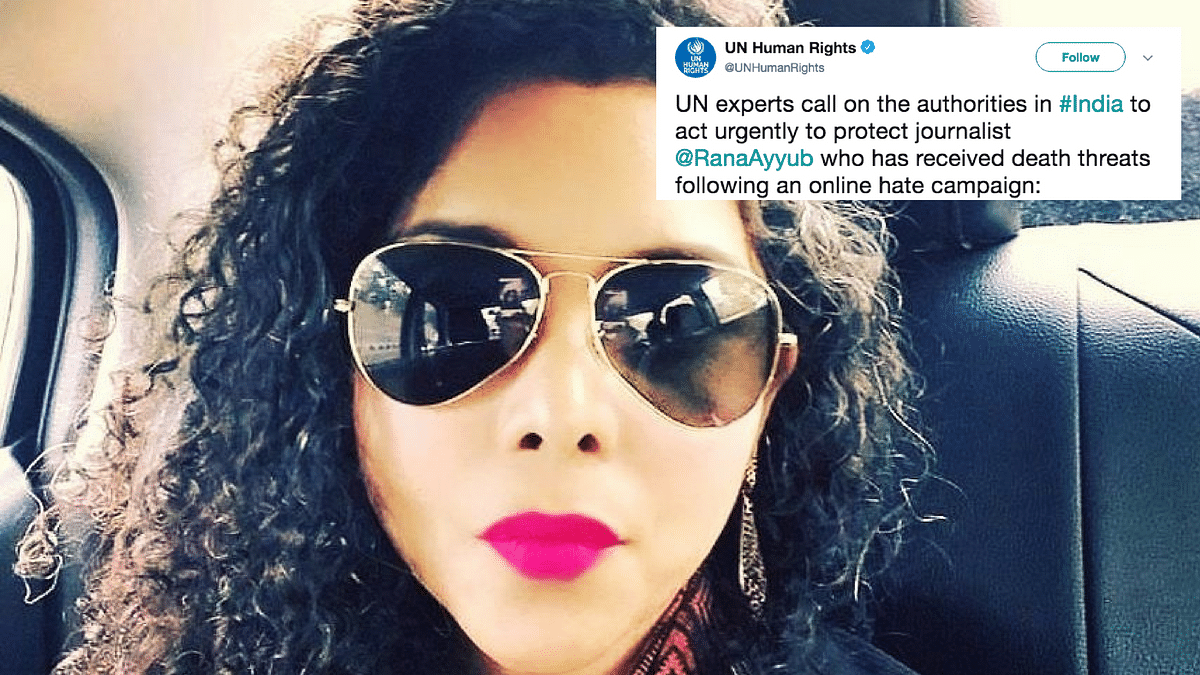 Protect Journo Rana Ayyub Urgently, United Nations To Indian Govt