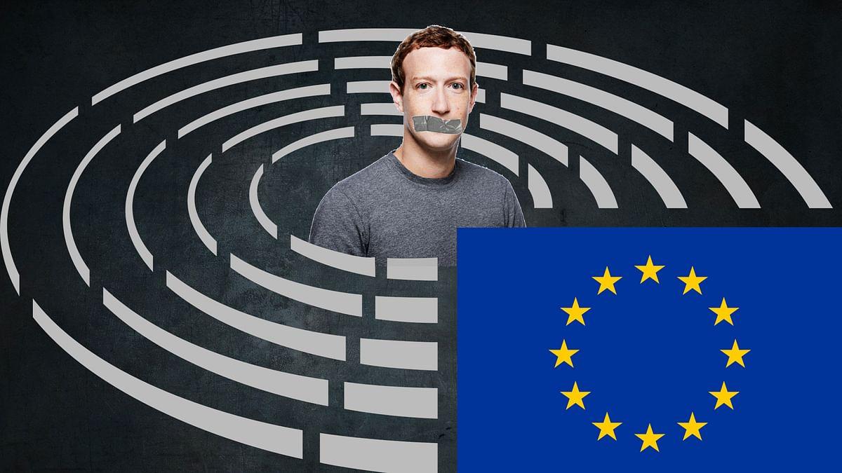 Mark Zuckerberg testified in front of the European Parliment