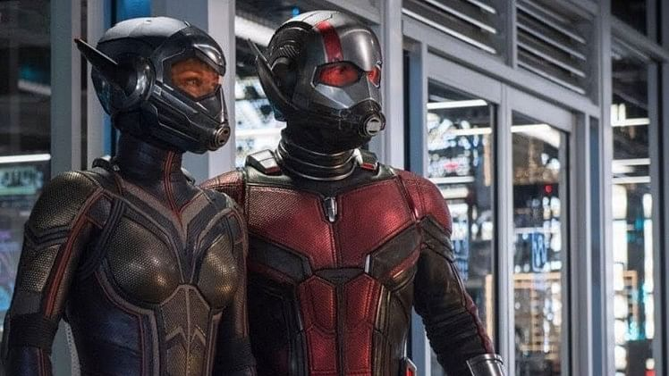 A still from Ant-Man and The Wasp.