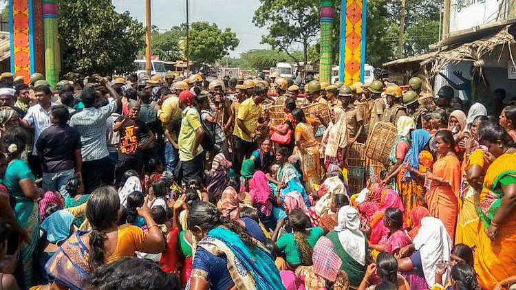 With 11 confirmed deaths, tensions are running high in Thoothukudi.